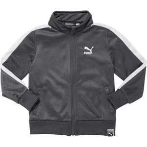 Toddler gray Poly Tricot T7 Track Jacket 6